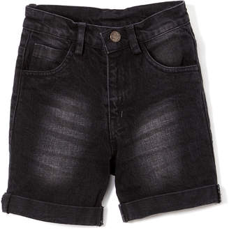 SAM. Sophie & Boys' Denim Shorts Dark - Dark Wash Denim Shorts - Infant, Toddler & Boys