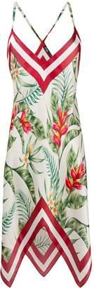 MC2 Saint Barth Thaira floral mini dress