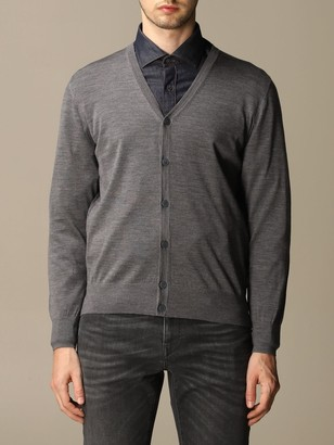 Ermenegildo Zegna Cardigan Cardigan In Pure Merinos Wool With Long Sleeves
