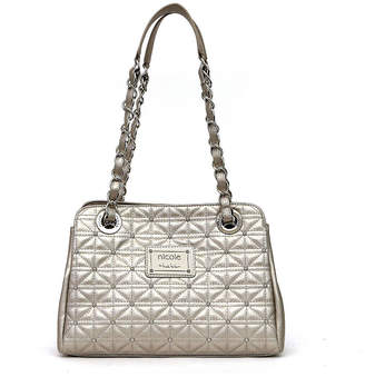 Nicole Miller Nicole By Suzie Quilted Satchel