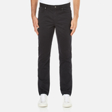 Michael Kors Men's Slim 5 Pocket Twill Jeans Black