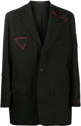 Yohji Yamamoto Straight-Fit Blazer