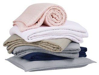 Truly Calm Antimicrobial Grey Twin/Twin XL 2 Piece Quilt Set