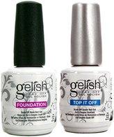 NEW Gelish Dynamic Duo Soak Off Gel Nail Polish - Foundation Base & Top Sealer