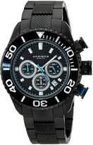 Akribos XXIV Men's AK512BK Conqueror Large Diver's Chronograph Bracelet Watch