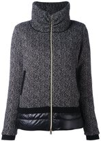 Herno high collar padded jacket