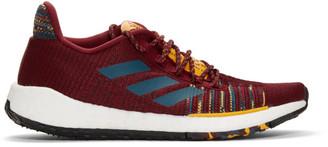 adidas x Missoni Burgundy PulseBOOST HD Sneakers