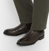Ermenegildo Zegna - Belgravia Suede-panelled Leather Boots