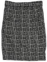 Alexander Wang Black & Tan Printed Pencil Skirt