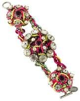 Erickson Beamon Faux Pearl & Crystal Bracelet