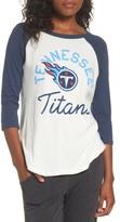 Junk Food Clothing Women's Nfl Tennessee Titans Raglan Tee