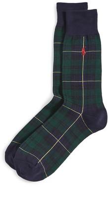 Polo Ralph Lauren Gordon Tartan Slack Socks