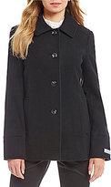 Preston & York Wool Single Breasted Classic Barn Coat