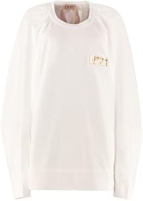 N°21 N.21 Cotton Crew-neck Sweatshirt