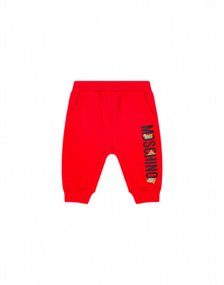 Moschino Teddy Logo Jogging Unisex Red Size 2a It - (2y Us)
