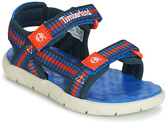 Timberland PERKINS ROW WEBBING SNDL girls's Sandals in Blue