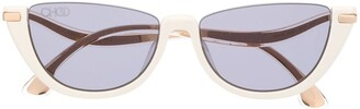 Jimmy Choo Eyewear Cat Eye Sunglasses