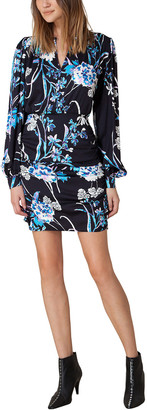 Hale Bob V Neck Floral Dress