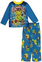 Pokemon Battle Boys Long Sleeved Pajamas-10