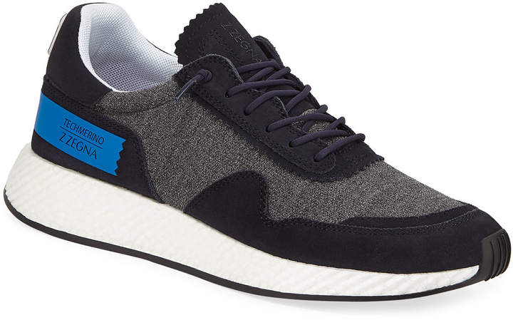 064a28a5 Men's Piuma TechMerino Virgin Wool Trainer Sneakers