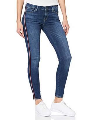 Cross Jeanswear Co. Cross Jeans Women's Giselle Skinny Jeans, (Dark Blue 081), (Size: 30)