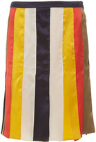 Alexis Mabille Multi Colored Ribbon Skirt