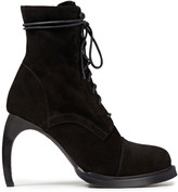 Thumbnail for your product : Ann Demeulemeester Lace-up Suede Ankle Boots