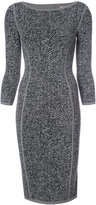 Michael Kors tweed fitted dress
