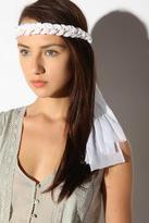 Chain and Chiffon Headwrap