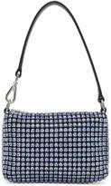 Alexander Wang Blue Micro Rhinestone Bag