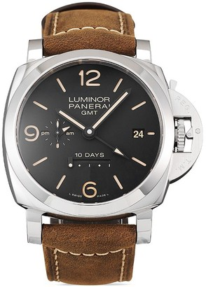 Panerai 2020 unworn Lumin 10 Days GMT Automatic Acciaio 44mm