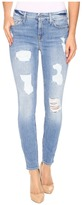 7 For All Mankind The Ankle Skinny with Destroy in Light Wash