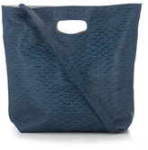AUGUST Handbags - The Cartagena - Teal Fish