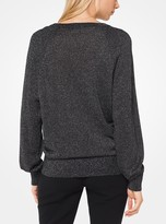 Michael Kors Metallic Nylon Pullover