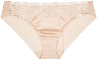 Wacoal Lace Affair Blush Lace Briefs