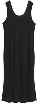 Arket Viscose Jersey Tank Dress