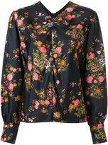 Isabel Marant floral print Rusak blouse - women - Silk - 36