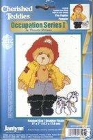 Fire Fighter - Occupation Series 1 (Cherished Teddies, Janlynn -95)