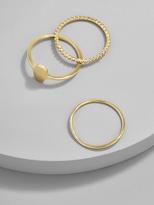 BaubleBar Trinity Everyday Fine Ring Set