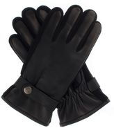 Dents Leather Glove Knitted Sidewalls