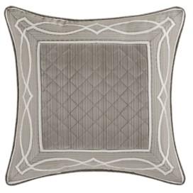 "J Queen New York Deco 20"" Square Decorative Throw Pillow Bedding"