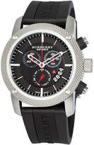 Burberry Men's BU7700 Endurance Chronograph Dial Rubber Strap Watch
