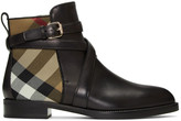 Burberry Black Vaughan Boots