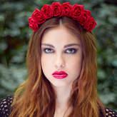 Stephanieverafter Rose Flower Crown Autumn Winter Colours