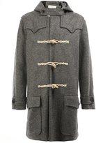 Faith Connexion lapel detail duffle coat
