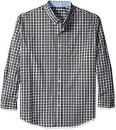 Izod Men's Big and Tall Advantage Performance Non Iron Stretch Long Sleeve Shirt