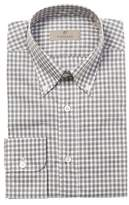 Canali Gingham Dress Shirt.