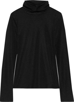 See by Chloe Ribbed Stretch-jersey Turtleneck Top