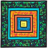 Paul Smith Floral Square in Square Pocket Square