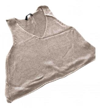 Brandy Melville Beige Cotton Tops